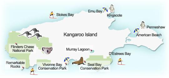 kangarooIslandMap